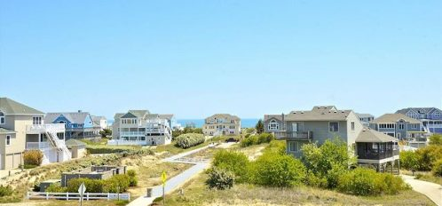 Corolla North Carolina vacation rental homes ocean view