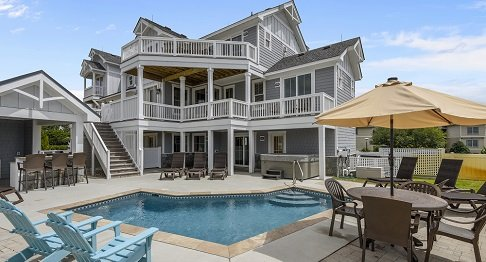 An Outer Banks Vacation Rental with a Pool