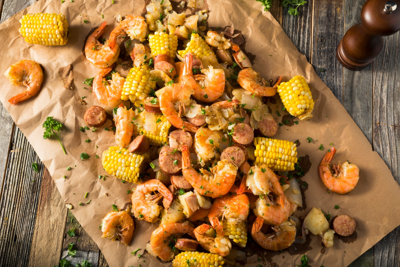 classic shrimp seafood boil outer banks restaurant