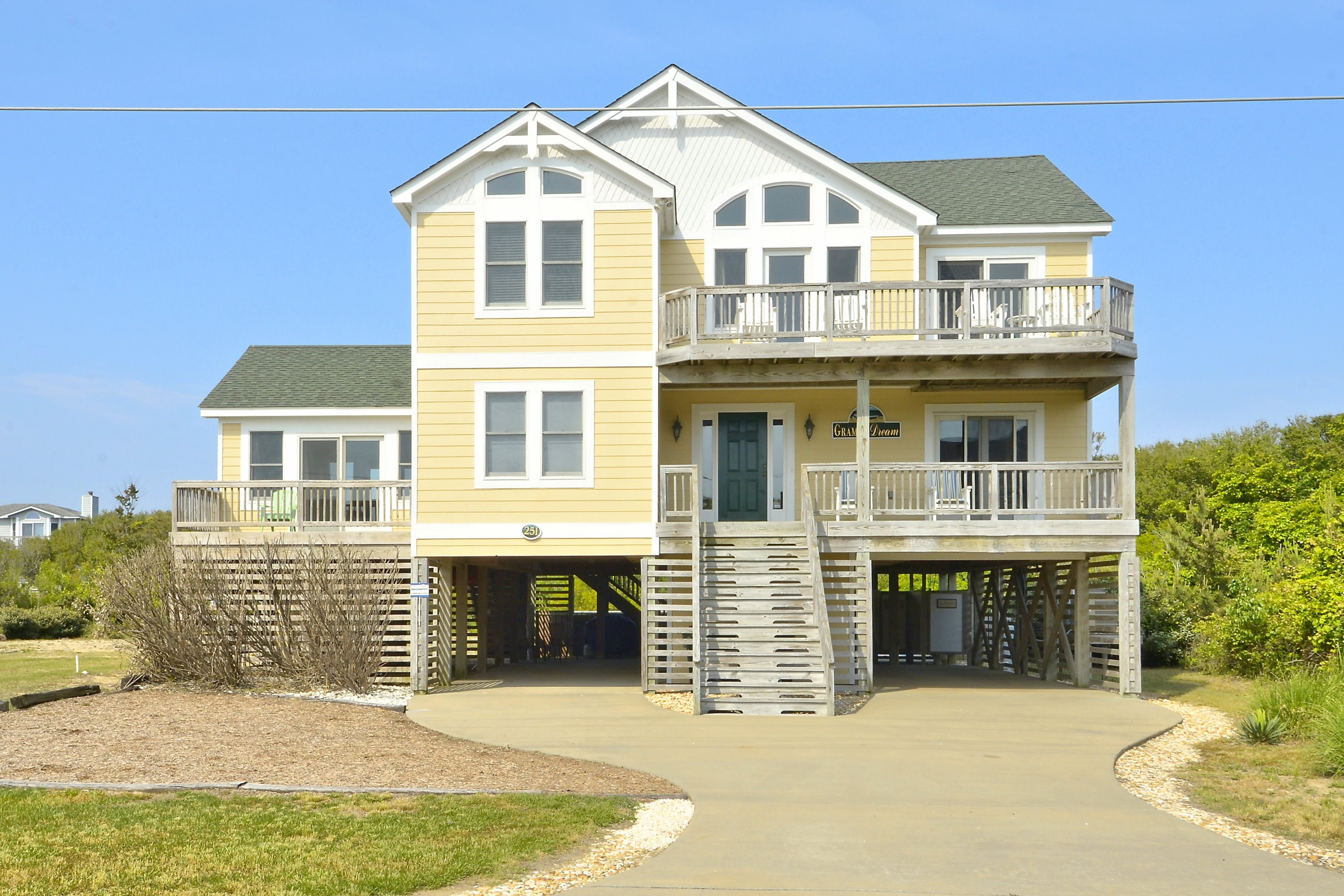 Gramp's Dream Vacation Rental in the OBX