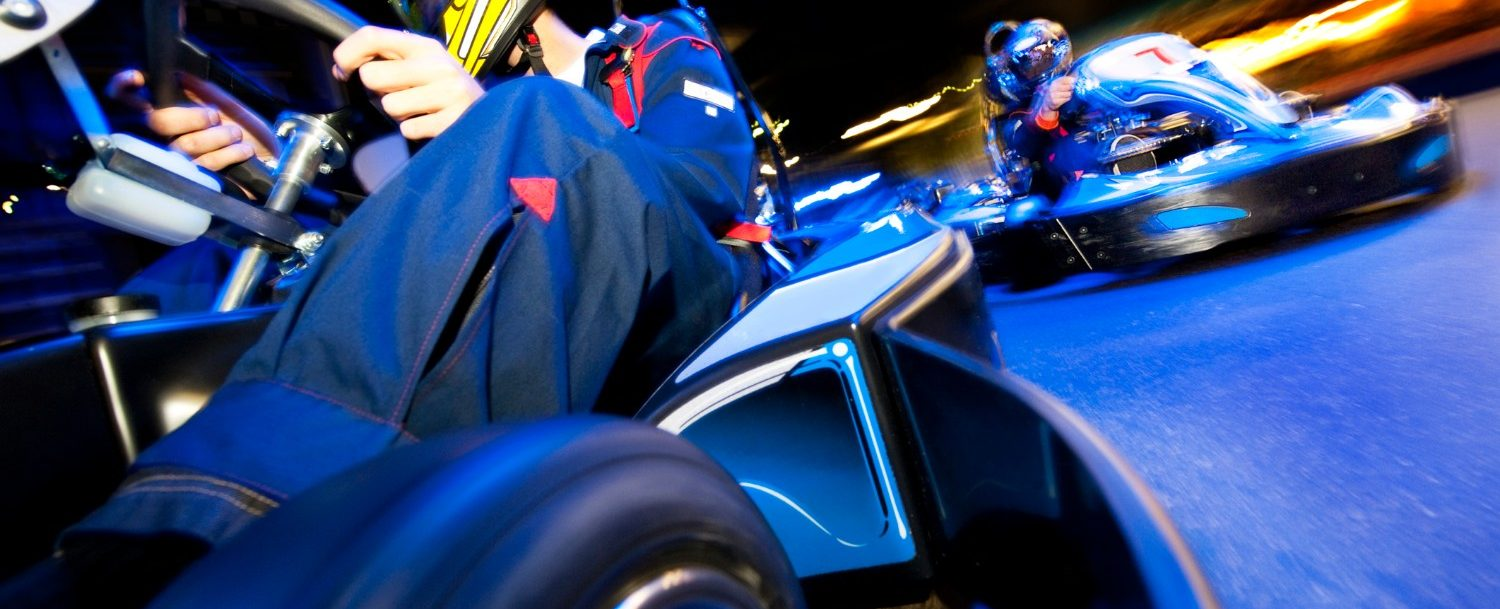 Here's where to race go karts in the Outer Banks.