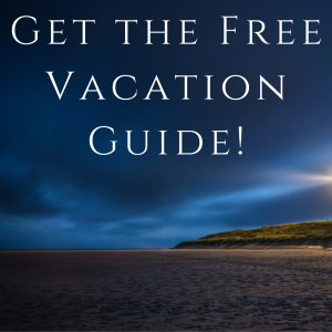 get the free vacation guide, outer banks beach at night