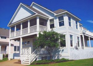 outer banks vacation rental exterior
