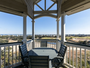 Beach Boddie Porch views of the ocean contact us today