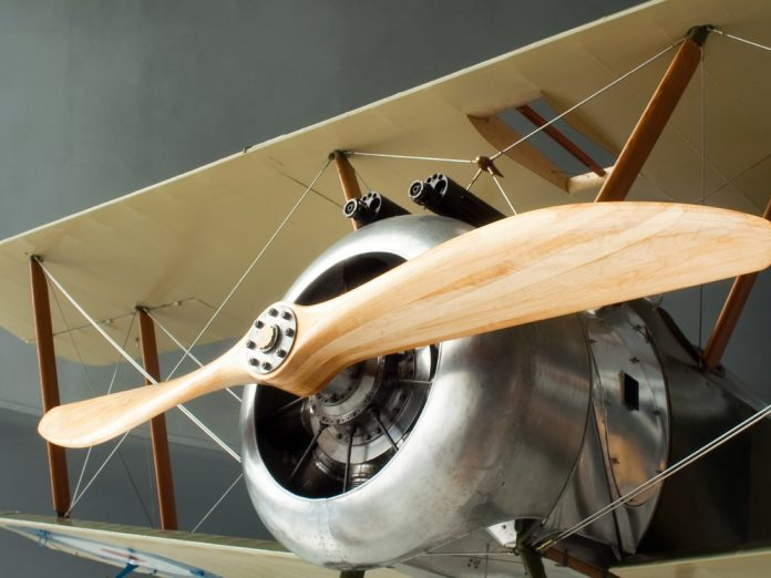 outer banks history airplane in museum