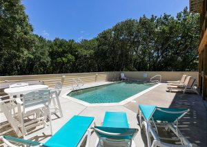 outer banks vacation rental private pool